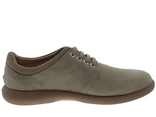 FRAU - Zapatillas de ante para hombre gris gris gris Size: 43 zBehime7