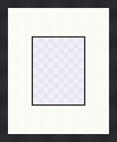Amazon 16x20 Black Frame With Double Mat Board Pack Of 25