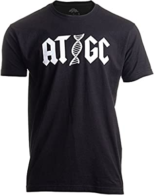Ann Arbor T-shirt Co. ATGC | Funny Chemistry Chemist Biology Science Teacher for Men Women DNA T-Shirt