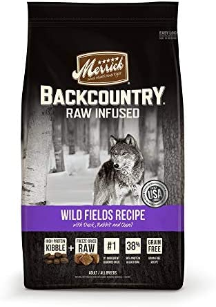 Merrick Backcountry Wild Fields Recipe Grain Free Dry Dog Food