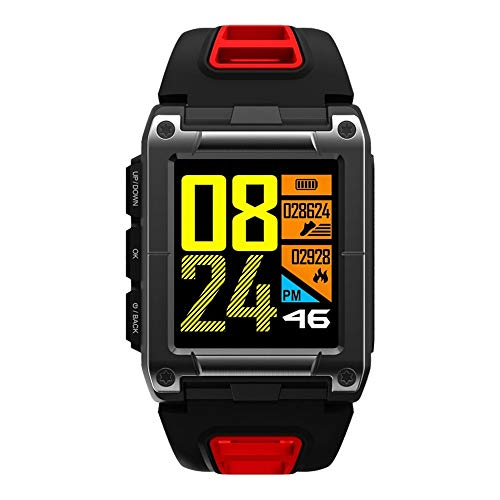 Lovewe Professional IP68 Waterproof Swimming Smart Watch Fitness Tracker Bluetooth GPS Wristband Colorful UI (Red) by Lovewe_Smart Watch (Image #10)
