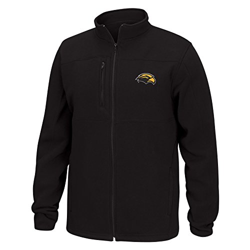 ern Mississippi Golden Eagles Men's Quest Brushed Poly Jacket, XX-Large, Black (Southern Mississippi Golden Eagles Jackets)
