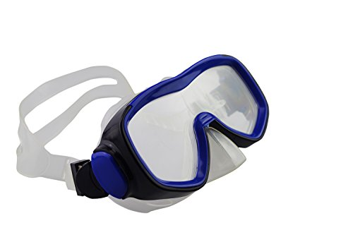 Qishi's Silicone Swimming Goggles Anti-water Anti-fog for Adult - Goggles Nose