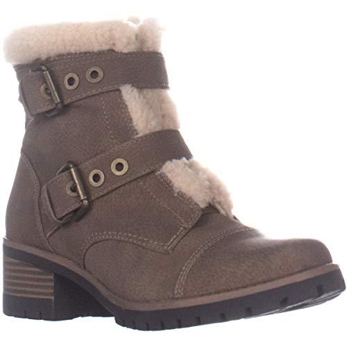 Anne Klein AK Sport Women's Lolly Fashion Boot, Dark Natural Multi Synthetic, 6.5 M US