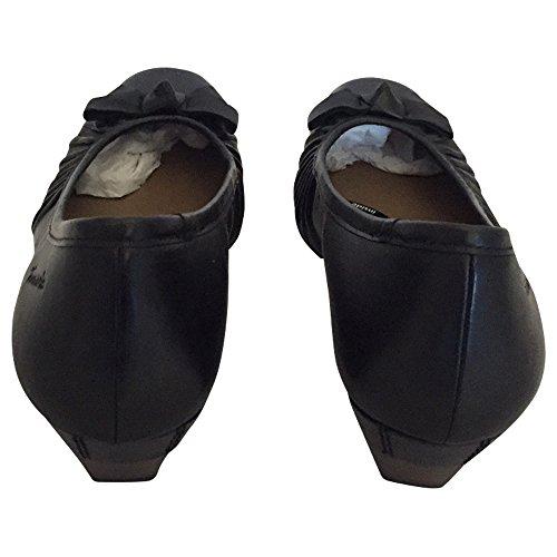 Tamaris Pumps Damenschuhe in Schwarz Echtleder Größe 36