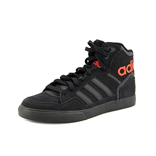 Adidas Extaball Womens Size 10 Black Suede Sneakers Shoes