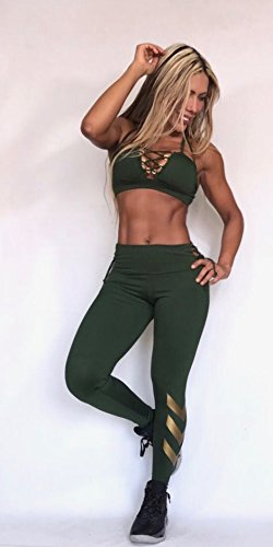 LEGGINGS TOP Colombiano - Talla unica - Ropa Deportiva Mujer Gym Workout Spinning suplex pantalones: Amazon.es: Deportes y aire libre