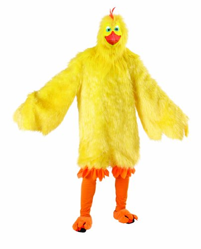 Deluxe Chicken Costume (Big Bird Feet Costume)