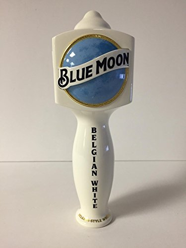 Blue Moon Beer Tap Handle (Blue Moon Belgian White Mini 2016 Style 7