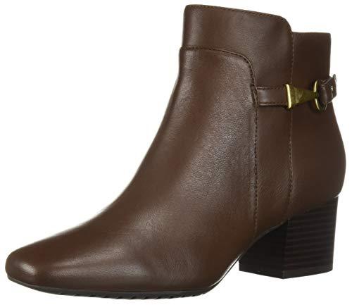 Bandolino Women's FARUKA Fashion Boot, Hickory, 10.5 M ()