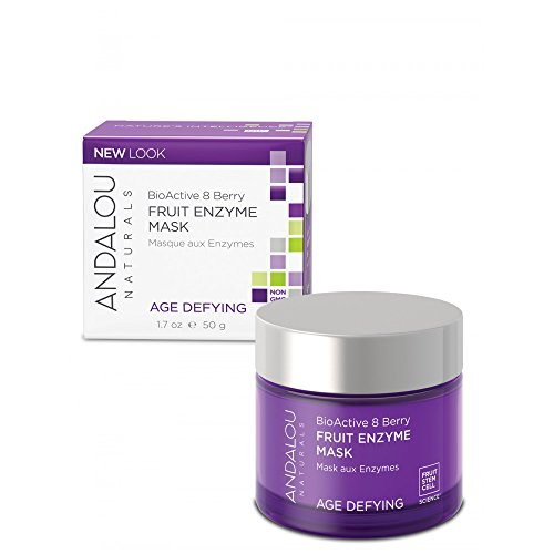 Andalou Naturals BioActive 8 Berry Enzyme Mask Age-Defying - 1.7 fl oz
