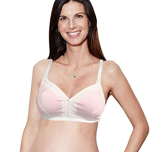 The Dairy Fairy Rose: Hands-Free Pumping Bra, Blush, X-Large