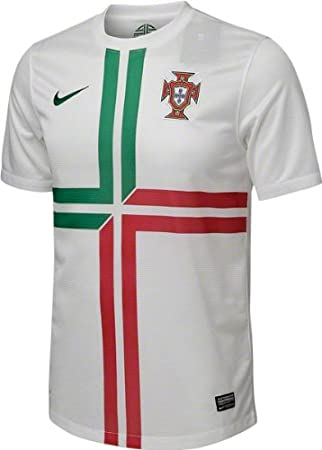 online store 6825c a3798 Nike Portugal Mens Away Shirt 2012 13 L White  Amazon.co.uk  Sports    Outdoors