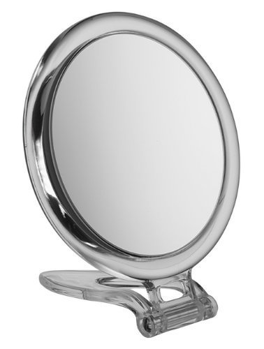 Circle Perspex Travel Mirror x 10magnification, 10cm diameter BeautyCentre A003/10
