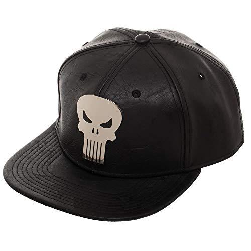 Marvel The Punisher Skull Suit Up Snapback Hat -
