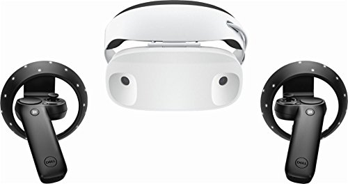 Dell - Visor Virtual Reality Headset and Controllers for Compatible Windows PCs