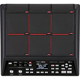 Roland SPD-SX Percussion Sampling Pad with 4GB Internal Memory, Black