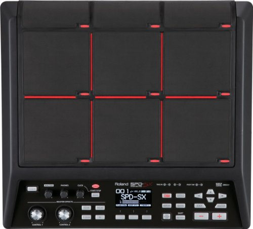 Roland Percussion Sampling Pad with 4GB Internal Memory, black (SPD-SX)