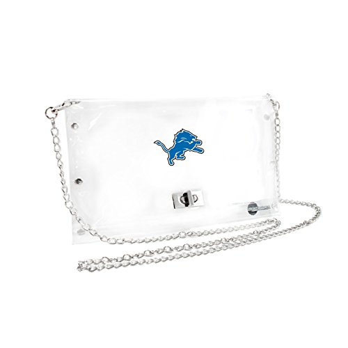 Detroit Lions Stadium - NFL Detroit Lions Clear Envelope Purse
