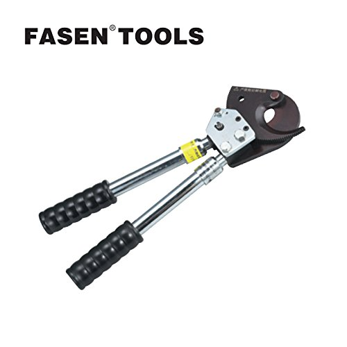 FASEN TOOLS J13 Ratchet Cable Cutter Adjustable handles Wire Cutter Plier knives can be sharpened or replaced Hand tools