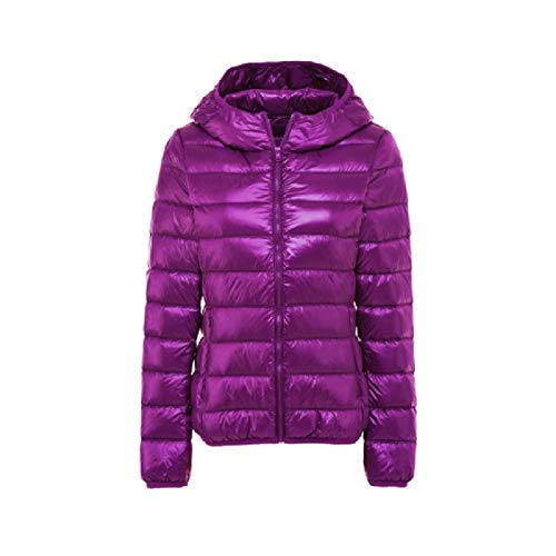 EnergyWomen Hood Ultra Light Weight Packable Puffer Outwear Down Jackets AS5