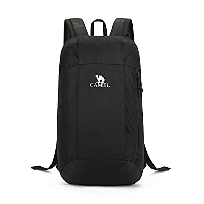 Camel 10L Lightweight Travel Backpack Outdoor Mountaineering Hiking Daypack with Durable & Waterproof