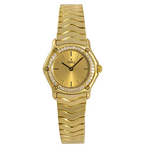 Ebel Classic Wave Watch - Ebel Wave Quartz Female Watch 866901 (Certified Pre-Owned)