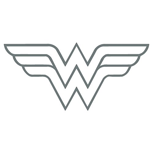 W Superhero Woman Symbol Car Truck Vinyl Decal