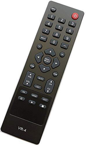 USARMT New VR2 VR4 Remote Compatible for VIZIO VO320E VO370M VO420E VL260M VL320M VL370M VT420M VT470M VL420M VL470M VL320M VL370M VF550M VECO320L VA370M VA320M VX32L (Vizio Remote Replacement Vo320e)
