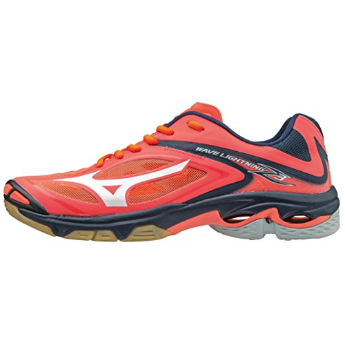 Mizuno Wave Lightning Z3 Women's Zapatillas Indoor - SS17 rouge/blanc/noir