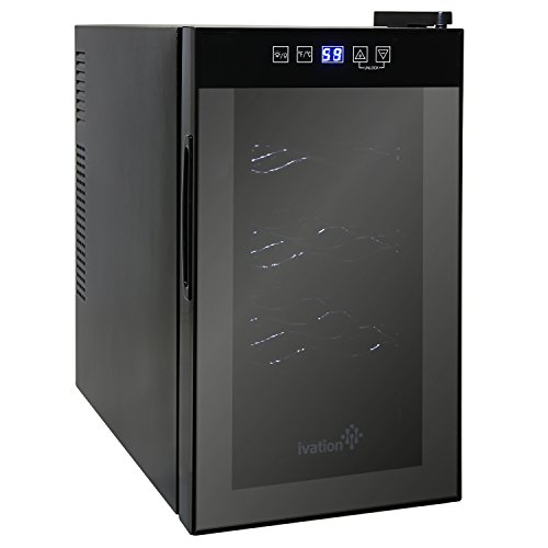 Ivation WineThermoelectric Temperature Freestanding Refrigerator