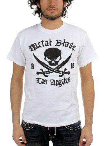 metal blade records t shirt - 7