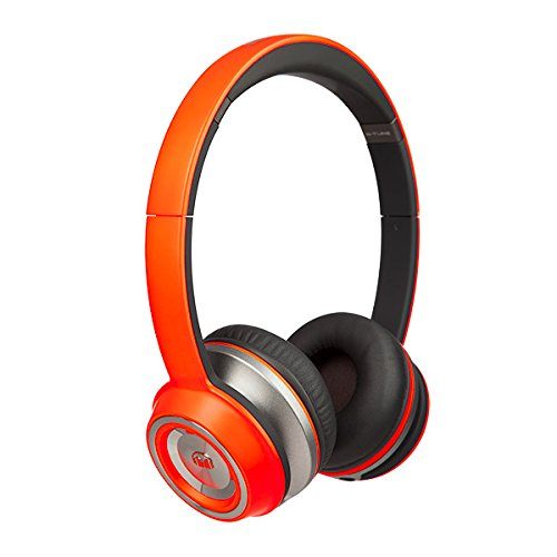 Monster NTune On-Ear Headphones - Neon Orange