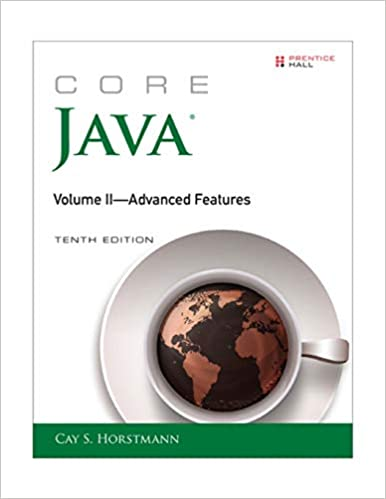 Core Java Volume Ii Advanced Features 10th Edition Core Series