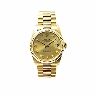 Rolex Day-Date swiss-automatic womens Watch 68278 (Certified Pre-owned)