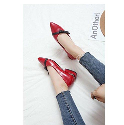 Planos con Baja Arco de Boca Zapatos Ocasionales Zapatos Perezosos Puntiagudos Zapatos CYwq4xXCT