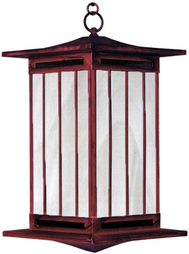 Craftsman Hanging Porch Light - 1