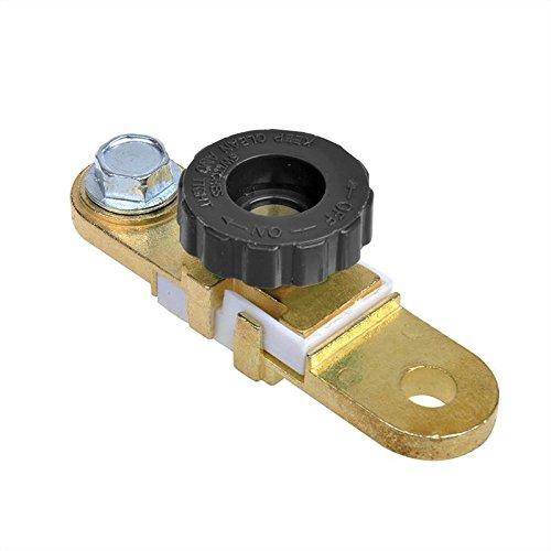 Batteriepolklemme (-) mit Stromunterbrecher flach pat