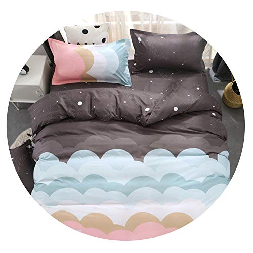 Clown- bedding set Twin/Full/Queen Size Bedclothes 3 / 4pcs Cover + Flat + Pillowcase,Dream -