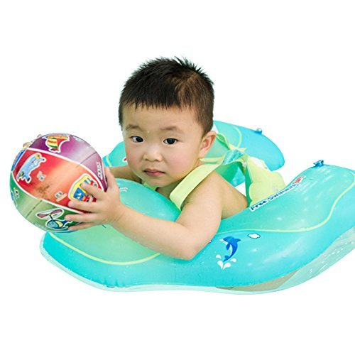 MARINE COLOR Baby Swimming Ring Inflatable Infant Armpit Floating Kids Swim Pool Accessories Circle Bathing Inflatable Double Raft Rings Toy Children Float (S) by MARINE COLOR (Image #8)