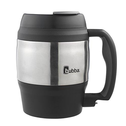 Bubba Classic Insulated Desk Mug, 52 oz, Black by BUBBA BRANDS