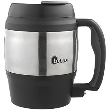 Bubba Classic Foam Insulated Desk Mug, 52 oz., Black