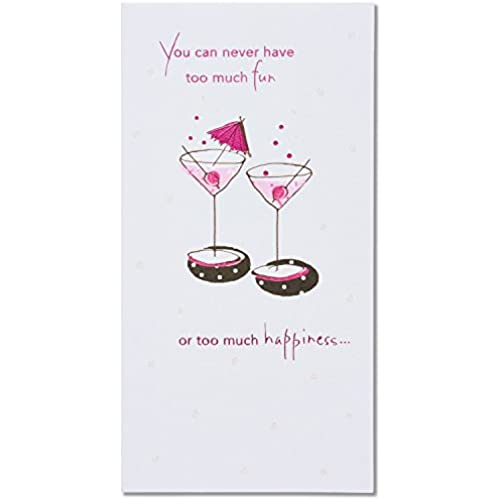 American Greetings Cheers Birthday Card with Glitter Sales