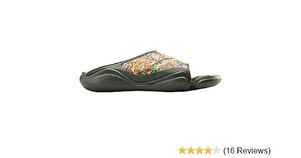 000c7a1ca597e Amazon.com | Under Armour Men's Compression II Camo SL, Real Tree/Brown, 8  D | Sport Sandals & Slides