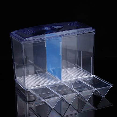 POPETPOP Caja de Cría de Peces de Acuario Incubación de Peces Caseros 4