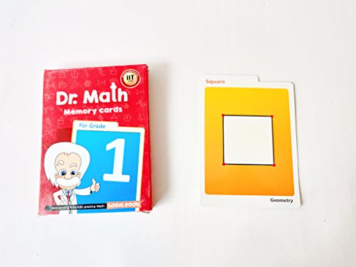 Dr Math (Grade 1) - Memory Flash Cards Summer Gift for Grade 1 Kids Maths for Concepts, Clarity and Recall (B0179WCONC) Amazon Price History, Amazon Price Tracker