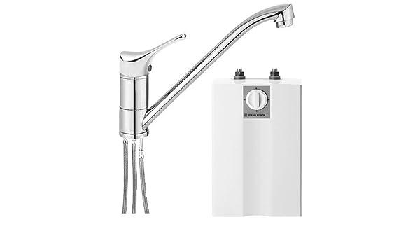 Stiebel Eltron - Calentador de agua para mueble inferior (5 l, con grifo de baja presión: Amazon.es: Bricolaje y herramientas