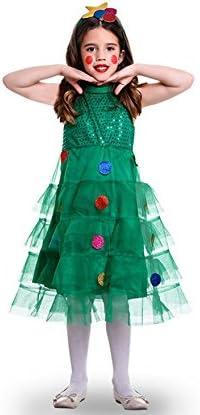 Disfraz de Arbol Navideño Tules para niña: Amazon.es: Juguetes y ...
