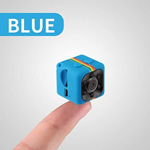 Sizet Original Hidden Camera Car Camera DVR Night Vision Video Voice Recorder Mini Action Cam Camcorder Smart Sensor Removable 32G SD Card 360-Degree Small Integrated Camera. (Blue)