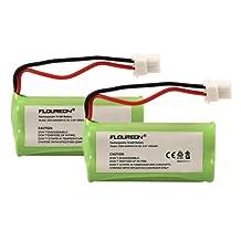 FLOUREON®2 Packs 2.4V 400mAh Cordless Phone Battery for VTech BT162342 BT-162342 BT1623421 BT-1623421 BT166342 BT-166342